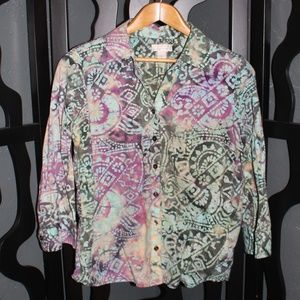 |CHRISTOPHER & BANKS| Top Size L